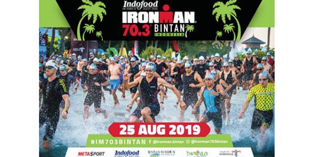 1.500 Atlit dari 55 Negara Siap Meriahkan Iron Man 70.3 Bintan
