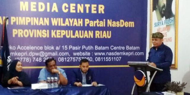 Pilkada Bintan, Jamhur Ismail Siap Bertarung Dengan Calon Incumbent