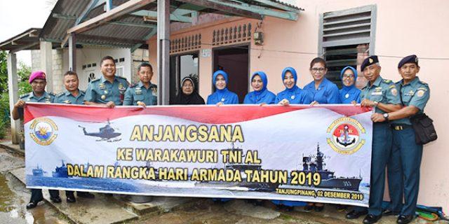 Jelang Hari Armada, Lantamal IV Anjangsana ke Warakawuri TNI AL