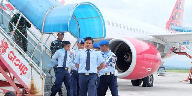 Amankan Teroris, Pesawat Sukhoi 30 Kawal Pesawat Batik Air