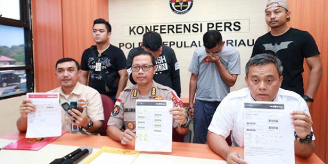 Polda Kepri Amankan Dua Pelaku People Smugling