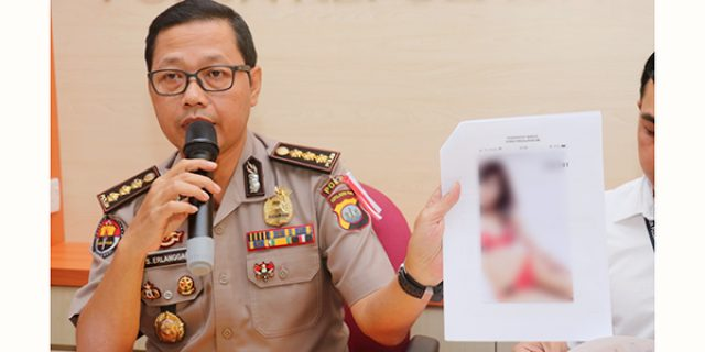 Polda Kepri Amankan Pelaku Perdagangan 7 Cewek Panggilan di Batam