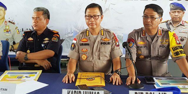 Polda Kepri Amankan Pelaku Penjualan 148 Ekor Penyu
