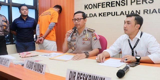 Polda Kepri Ungkap Kasus Prostitusi Online di Batam