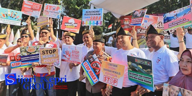 "Stop Hoax dan ""STOP MONEY POLITIC"""