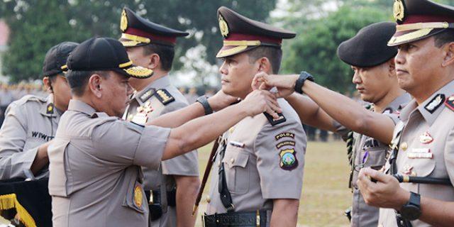 Kapolda Pimpin Sertijab Tiga Pejabat Polda Kepri