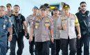 Dikawal Senjata Laras Panjang, Kapolda Cek Pos Pengamanan Pelayanan Terpadu