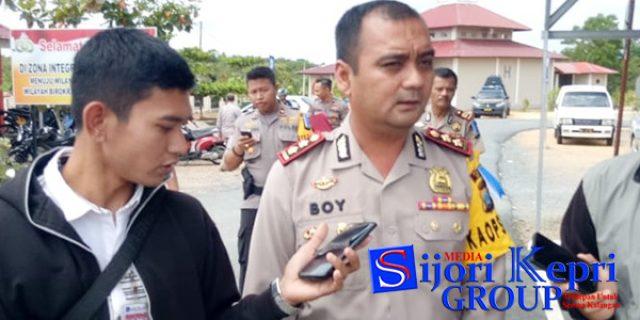 """Kapolres Bintan : 465 Personil Siap Amankan """"ARUS MUDIK IDUL FITRI"""""""