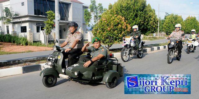 """Konvoi Pengantar Pelepasan Mantan Dandim 0317/TBK """"PENUH KEBERSAMAAN"""""""