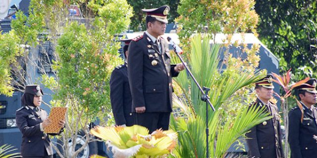 200 Personil Polres Natuna Ikuti Upacara Peringatan HUT Pancasila