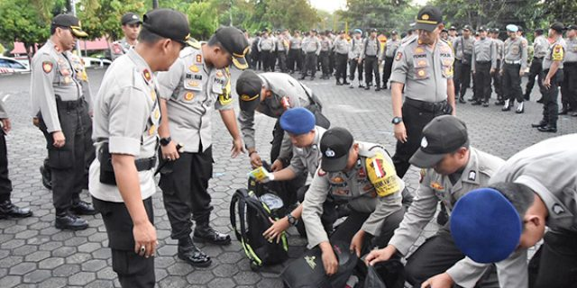 Amankan TPS, Polres Tanjungpinang Libatkan 318 Personil
