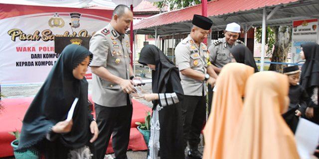 Polres Tanjungpinang Buka Bersama 300 Anak Panti Asuhan