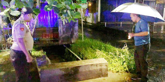 Kapolres TPI Cek Lokasi Rawan Banjir