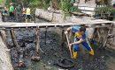 Kegiatan World Cleanup Day di Kecamatan Tebing
