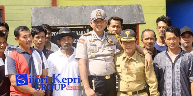 "Polres Natuna Bersembang Dengan ""MASYARAKAT NELAYAN"""