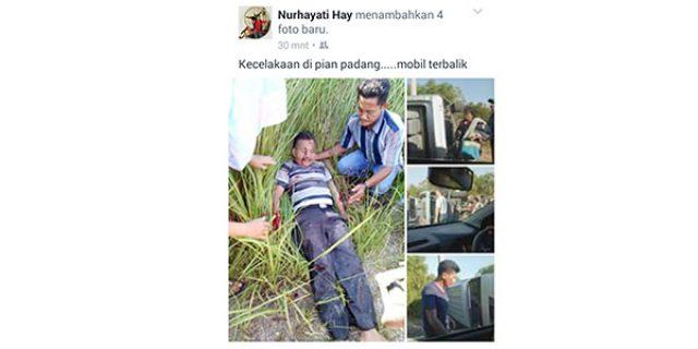 """Kecelakaan di Jalan Lintas Pian Padang """"7 ORANG LUKA-LUKA"""""""