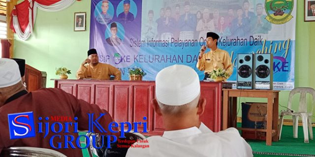 """Kelurahan Daik Lingga Luncurkan Program """"PELAYANAN UNGGULAN"""""""