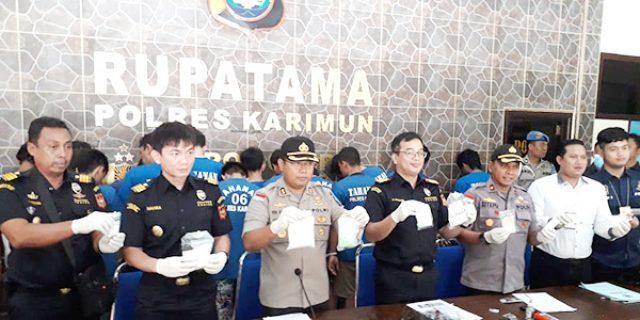 ABK Kapal MV Putri Anggreni 05 Diamankan