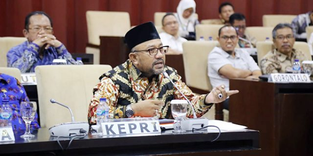 Rapat Konsultasi BULD, Lis Beri Masukan ke DPD RI