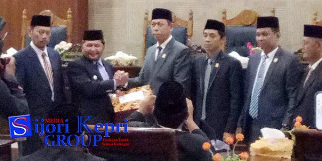 """DPRD Minta Bupati Anambas """"PERBAIKI LKPj 2017"""""""