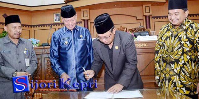 "DPRD dan Pemko Tanjungpinang Sepakati ""KUA-PPAS APBD-P TA 2017"""