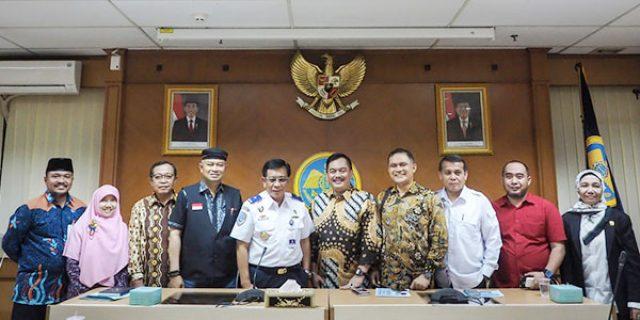 """Komisi III DPRD Kepri Sampaikan Permasalahan Kepri """"KE KEMENHUB RI"""""""