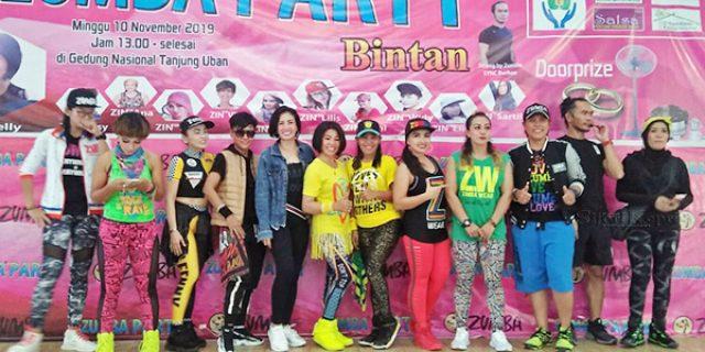 Zumba Party Digelar di Bintan