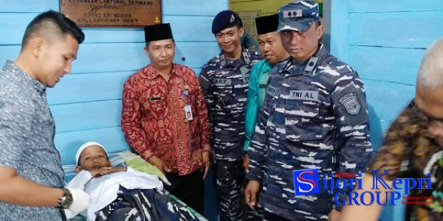 """HUT TNI Ke 73, Lanal Tarempa Gelar """"SUNATAN MASSAL"""""""
