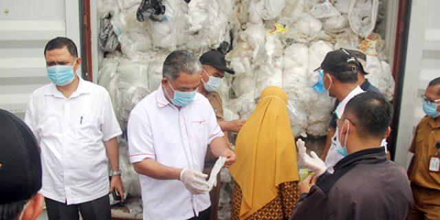 Komisi III DPRD Kepri Dukung BC Batam Tuntaskan Impor Limbah Plastik