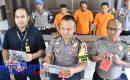 """Polres Tanjungpinang Amankan 3 Tersangka """"PEMBOBOL MOBIL"""""""