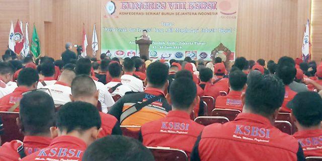 Kongres Ke VIII KSBSI Resmi Dibuka