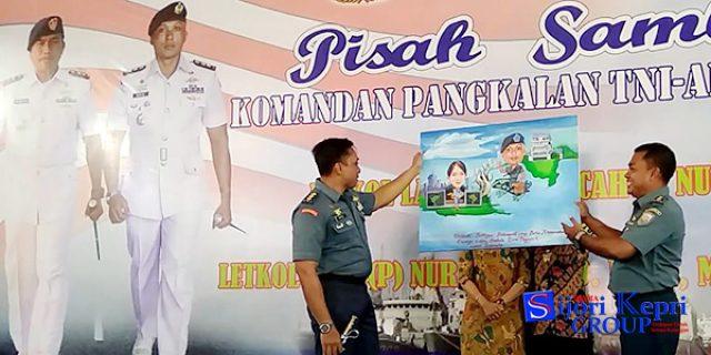 "Letkol Laut Nur Rochmad Resmi Jabat ""KOMANDAN PANGKALAN TNI AL TAREMPA"""