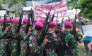 Lanal Ranai Laksanakan Latihan Pengamanan Pemilu 2019