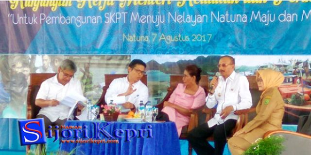 "Nelayan Natuna Kini Diberi Asuransi ""OLEH MENTERI SUSI"""