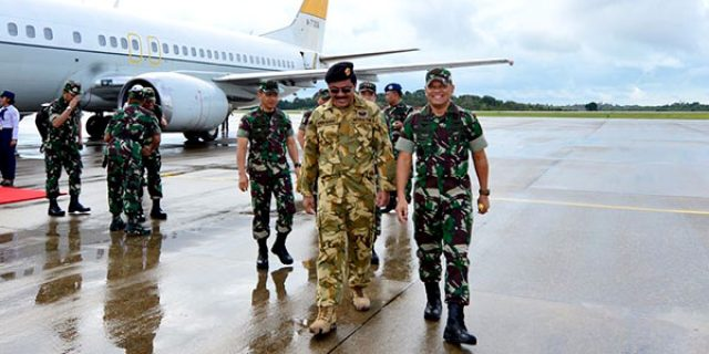 "Nurdin Dampingi Panglima TNI ""ke ANAMBAS"""