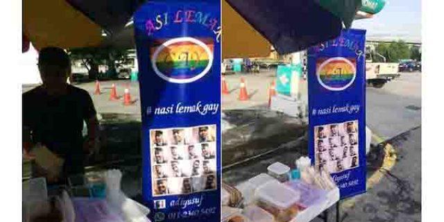 """Kemunculan Nasi Lemak Gay Bikin Netizen """"GERAM"""""""