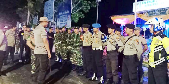 TNI-Polri Natuna Gelar Patroli Gabungan Cipta Kondisi