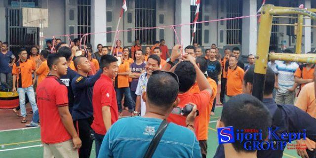 """85 Warga Binaan dan Pegawai Rutan Kelas I Tanjungpinang """"IKUT LOMBA TRADISIONAL"""""""