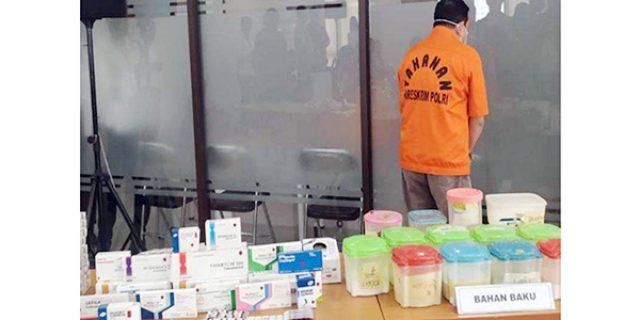 Pasarkan Obat Palsu, Afap Bukukan Omset Ratusan Juta