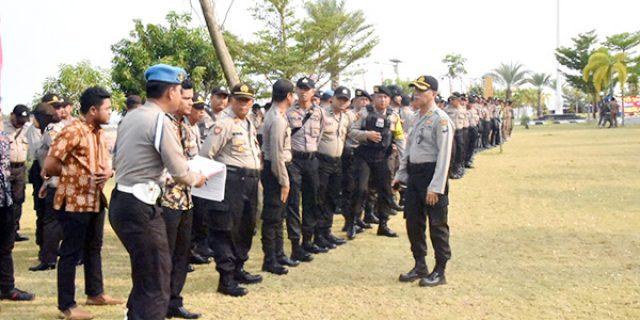 Pelantikan Anggota DPRD Kepri, Polda Kepri dan Polres Tanjungpinang Kerahkan 330 Personil