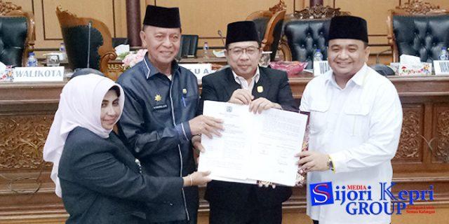 """RAPBD Perubahan 2018 Pemko Tanjungpinang """"DISAHKAN Rp 915,24 MILIAR"""""""