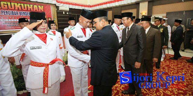 "Rafiq ""KUKUHKAN"" Paskibraka Kabupaten Karimun"