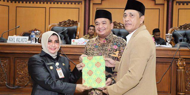DPRD Tanjungpinang Gelar Paripurna Penyampaian Pidato Walikota