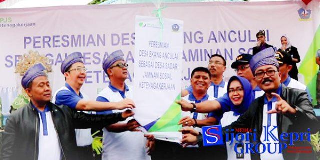 """Ekang Anculai Resmi Jadi """"DESA PERCONTOHAN"""""""