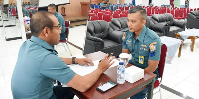 Peserta Flying Psychologist Lantamal IV Ikuti Test Tingkat Stress