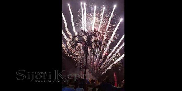 """Sambut Tahun Baru 2018, Dispar Bintan Gelar """"PESTA KEMBANG API"""""""