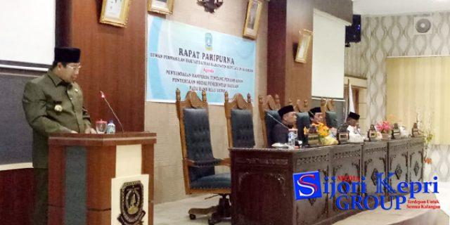 "Bupati Anambas Sampaikan ""PAD PENYERTAAN MODAL"" di Bank Riau Kepri"