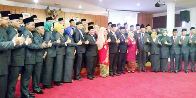 30 Anggota DPRD Karimun Dilantik