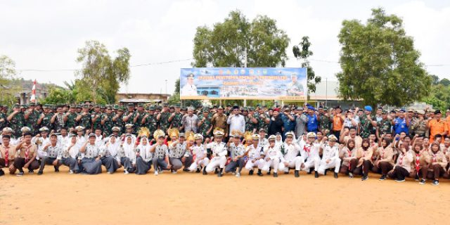 Gubernur Tutup Operasi Teritorial TNI Galang 01