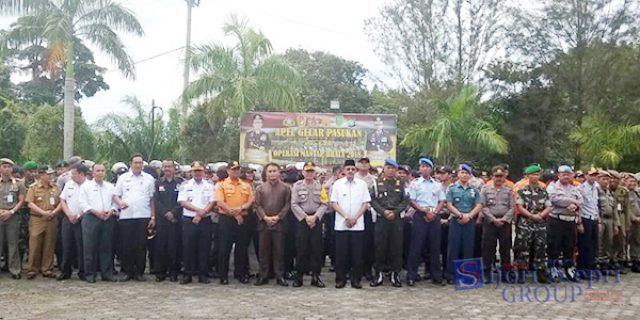 "Polres Natuna Gelar Apel Pasukan Operasi ""MANTAP BRATA 2018"""